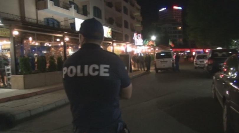 изпратени допълнителни 182 полицаи слънчев бряг