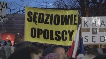 Протести в Полша в подкрепа на свободата на съда