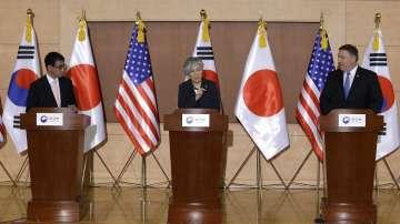 Майк Помпео информира Южна Корея и Япония за срещата в Сингапур