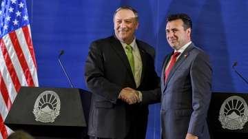 Майк Помпео предупреди Северна Македония за рисковете от китайски инвестиции