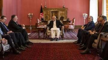 Държавният секретар Май Помпео посети Афганистан