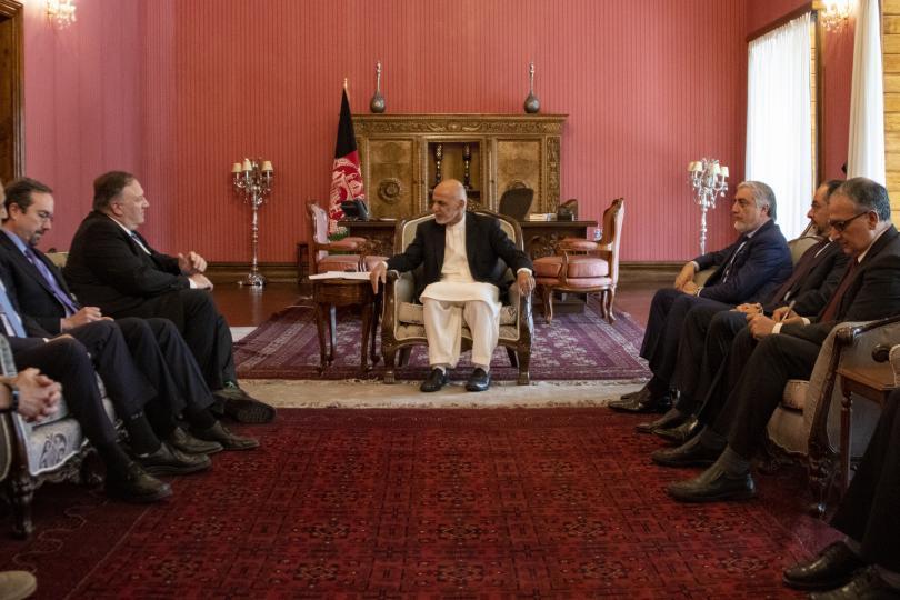 Американският държавен секретар Май Помпео изрази надежда за постигане на