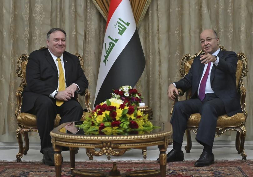 снимка 1 Държавният секретар на САЩ направи неочаквано посещение в Ирак