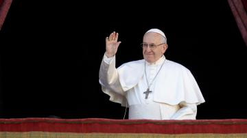 Папа Франциск поздрави католическия свят за Рождество