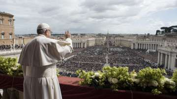 """Папа Франциск отправи великденското си обръщение """"Към Града и към света"""""""