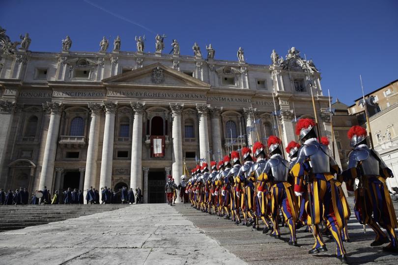 снимка 1 Папа Франциск поздрави католическия свят за Рождество