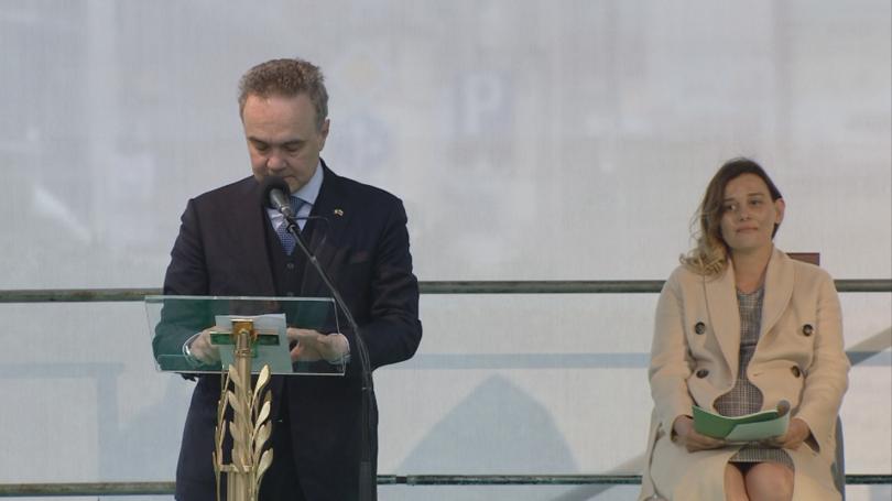 снимка 17 Кулминация на визитата на папа Франциск: Молитва за мир в София (СНИМКИ)