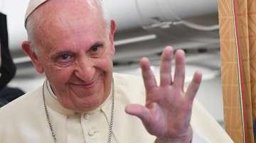 Папа Франциск на визита в Швеция