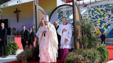 Слаб интерес към папската визита в Грузия