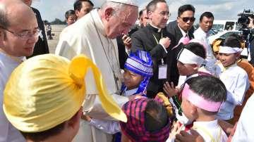 Първа папска визита в Мианмар