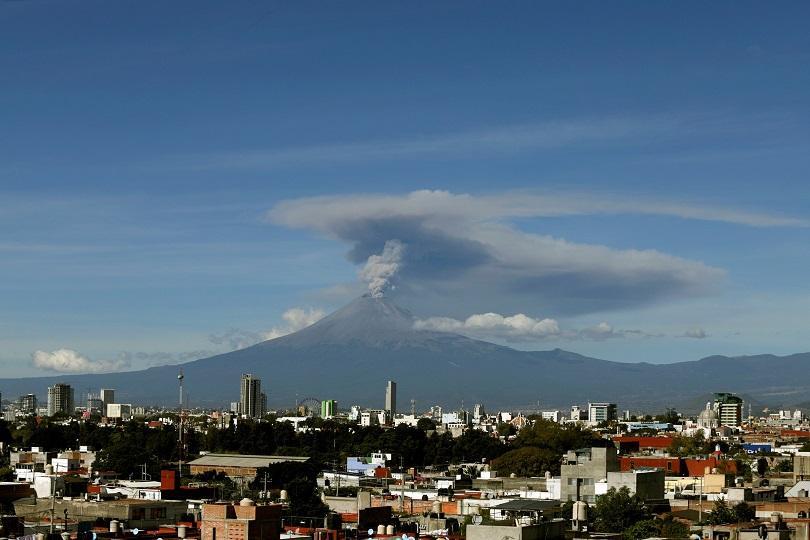 Вулканът Попокатепетъл се активизира