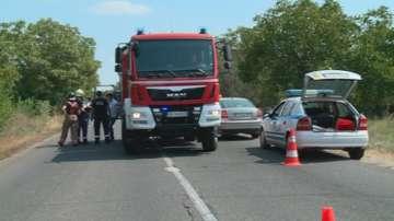 Двама младежи загинаха при тежка катастрофа край Поповица