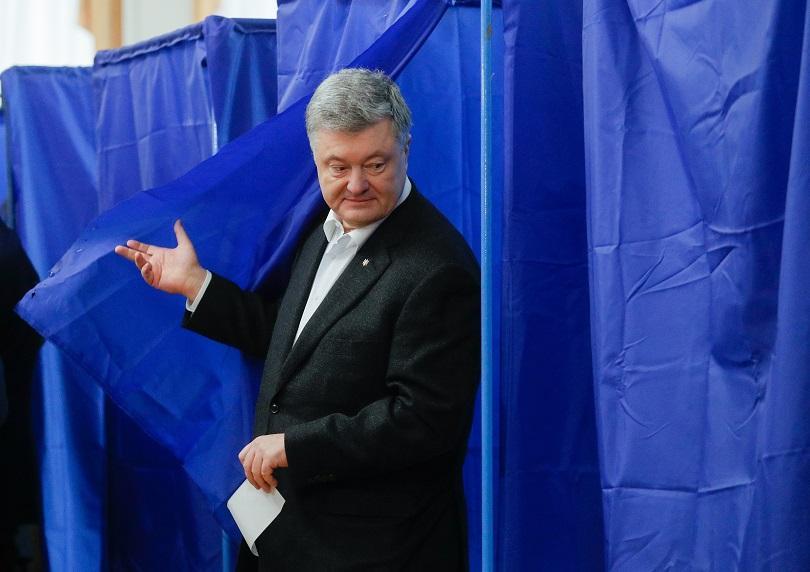 снимка 1 Двамата претенденти за президент на Украйна гласуваха на изборите