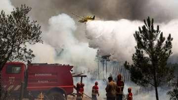 Армията се включва в гасенето на опустошителните пожари в Португалия