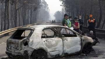 Горският пожар в Португалия взе над 60 жертви