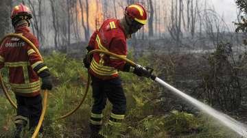 360 войници помагат в борбата с горските пожари в Португалия