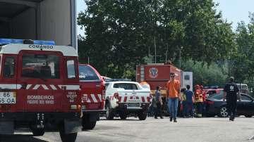 Доброволците в Португалия в пъти повече от професионалните огнеборци