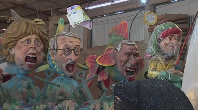 политиката превзе духа един прочутите карнавали португалия
