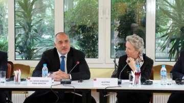 Бойко Борисов проведе работна закуска с посланиците на държавите от ЕС