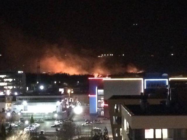 пет декара изгоряха пожара камбаните
