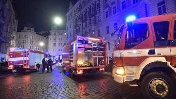 Пожар в хотел в центъра на Прага, двама загинали