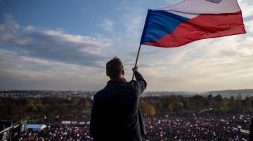 В Прага протестират срещу премиера Андрей Бабиш
