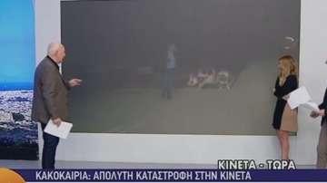 Прасе нападна репортер в ефир
