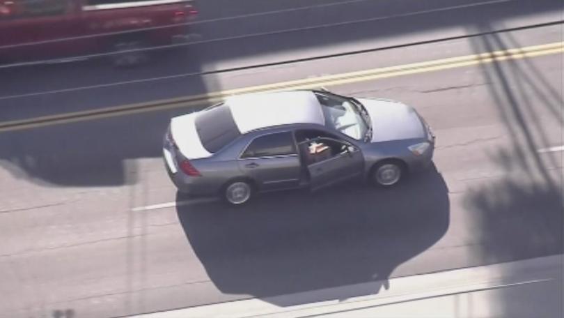 Опасно преследване на беглец в Калифорния. Часове наред полицията се
