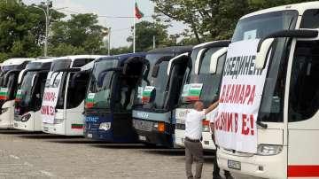 Превозвачи протестират в подкрепа на създаването на автомобилна камара