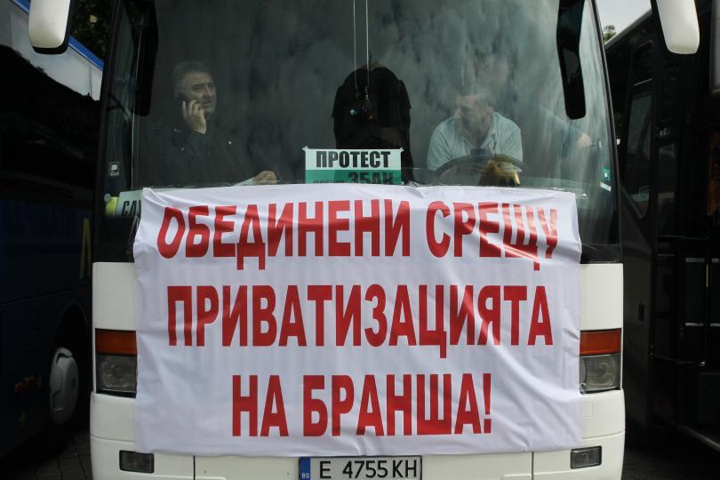 автобусните превозвачи обединяват конфедерация