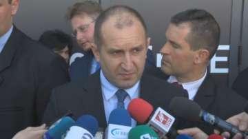 Румен Радев: България не търси в никакъв случай проблеми с Турция