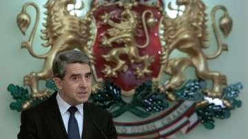 Президентът Росен Плевнелиев не каза дали ще се кандидатира за втори мандат