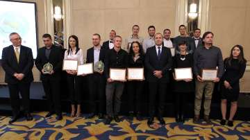 Президентът Радев отличи с награди иновативните предприятия у нас