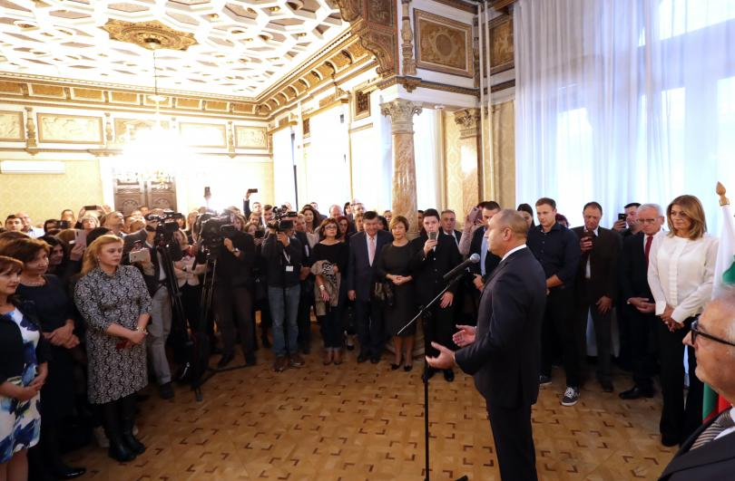 Президентът Румен Радев е на официално посещение в Австрия по