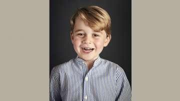 Нова снимка на британския принц Джордж в чест на 4-я му рожден ден