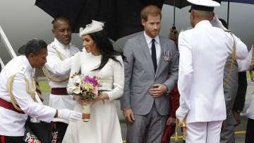 Принц Хари и съпругата му Меган на двудневна визита във Фиджи