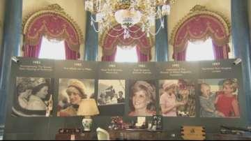 Излагат в Бъкингамския дворец рядко показвани предмети на принцеса Даяна