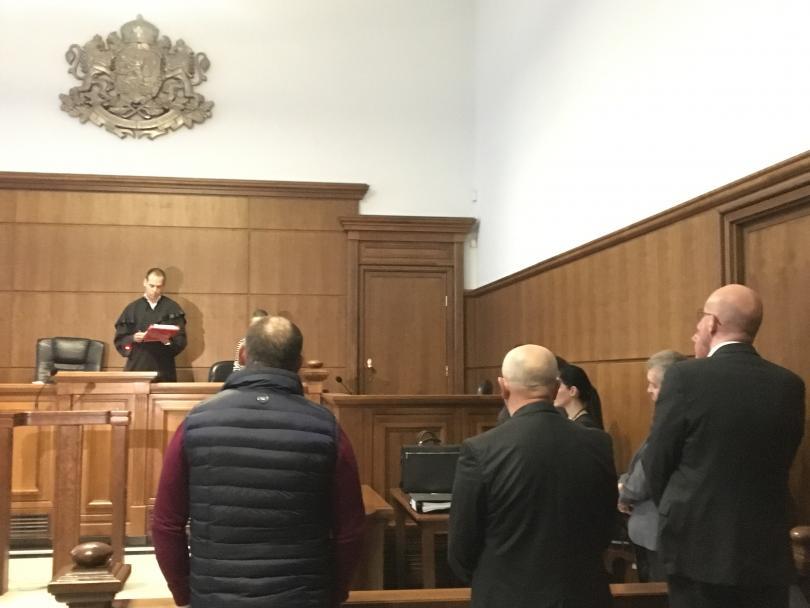 Софийски градски съд постанови три осъдителни присъди по делото за
