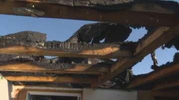 Пожар изпепели част от приюта на отец Иван в Нови хан