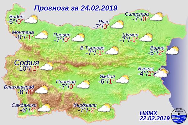 Справка на сайта на Националния институт по метеорология и хидрология