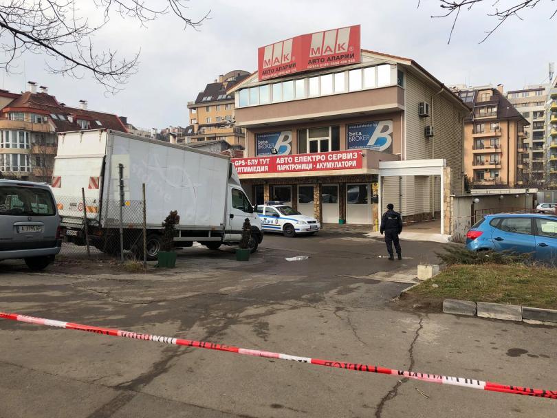 Застреляха бизнесмена Петър Христов минути след 10 часа на ул.
