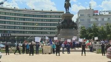 Земеделски производители протестираха срещу еднодневните трудови договори