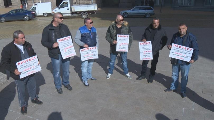 Пореден протест срещу промените в Закона за водите