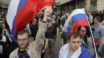 Антикорупционни протести в Русия. Задържаха критика на Путин - Алексей Навални