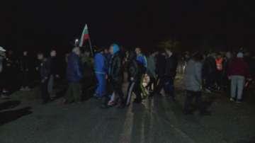 Жители на гълъбовското село Обручище блокираха пътя Гълъбово - Медникарово