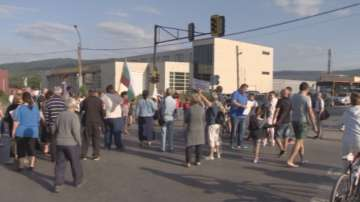 Жителите на Горубляне отново излязоха на протест