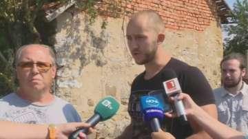Протестиращите в Шарково се разграничиха от политическите партии