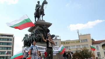 Втори протест пред НС с искане за смяна на политическата система