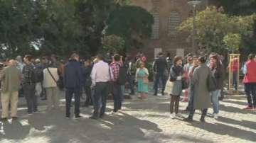 Протест срещу ремонтите в центъра на София