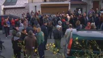 Протест срещу ежедневното спиране на тока в Николово